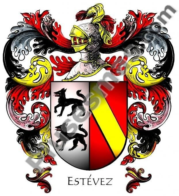 Escudo del apellido Estévez