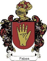 Escudo del apellido Fabea