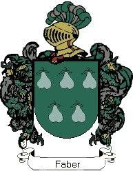 Escudo del apellido Faber