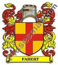 Escudo del apellido Fabert