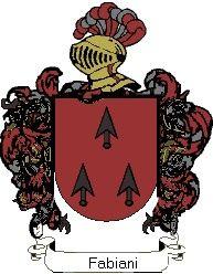 Escudo del apellido Fabiani