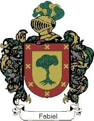 Escudo del apellido Fabiel