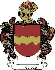 Escudo del apellido Fabioca