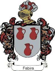 Escudo del apellido Fabira