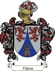 Escudo del apellido Fabra