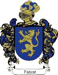 Escudo del apellido Fabrat