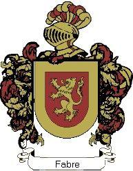 Escudo del apellido Fabre