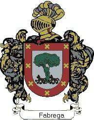 Escudo del apellido Fabrega