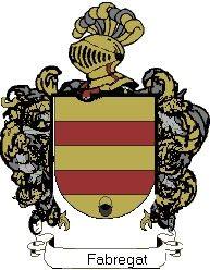 Escudo del apellido Fabregat