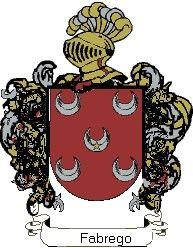 Escudo del apellido Fabrego