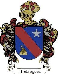 Escudo del apellido Fabregues