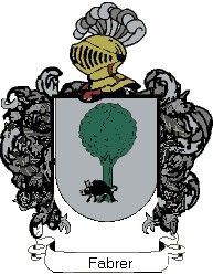 Escudo del apellido Fabrer