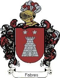 Escudo del apellido Fabres