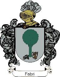 Escudo del apellido Fabri