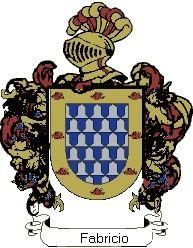 Escudo del apellido Fabricio