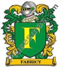 Escudo del apellido Fabricy