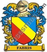 Escudo del apellido Fabris