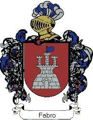 Escudo del apellido Fabro