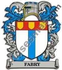Escudo del apellido Fabry