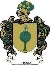 Escudo del apellido Fabuel