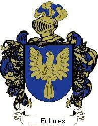 Escudo del apellido Fabules