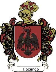 Escudo del apellido Facenda