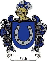Escudo del apellido Fach