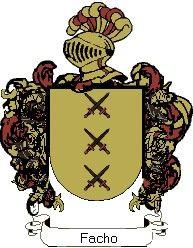 Escudo del apellido Facho