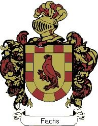 Escudo del apellido Fachs