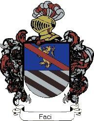 Escudo del apellido Faci