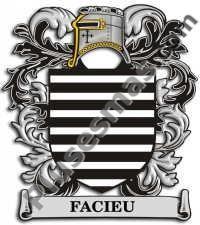 Escudo del apellido Facieu