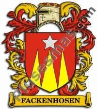 Escudo del apellido Fackenhosen