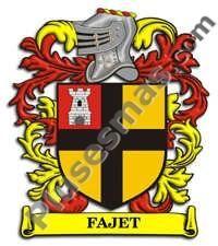 Escudo del apellido Fajet