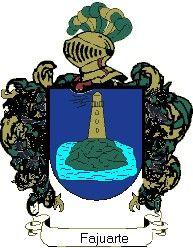 Escudo del apellido Fajuarte