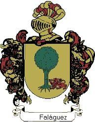 Escudo del apellido Faláguez