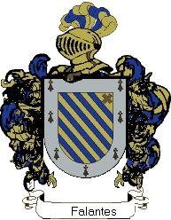 Escudo del apellido Falantes