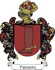 Escudo del apellido Falcastro
