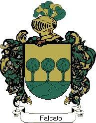 Escudo del apellido Falcato