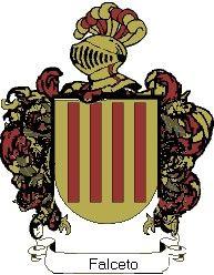 Escudo del apellido Falceto