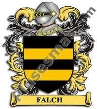 Escudo del apellido Falch