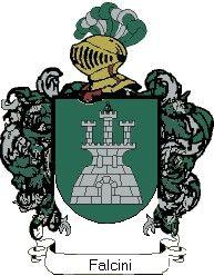 Escudo del apellido Falcini