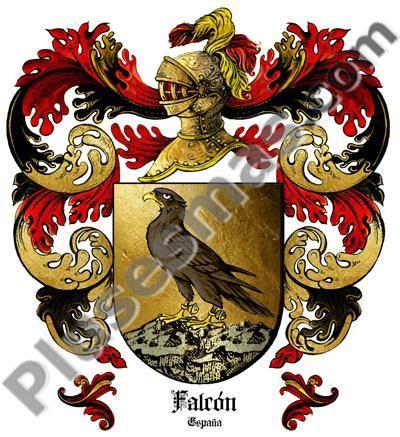 Escudo del apellido Falcón
