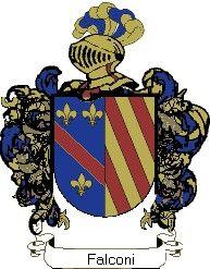 Escudo del apellido Falconi