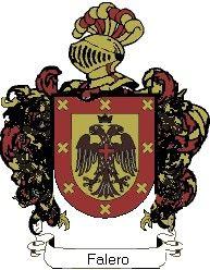 Escudo del apellido Falero