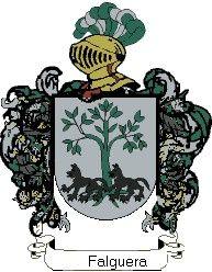 Escudo del apellido Falguera