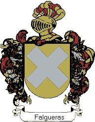 Escudo del apellido Falgueras