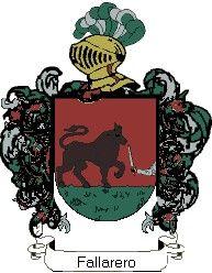 Escudo del apellido Fallarero