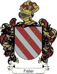 Escudo del apellido Faller
