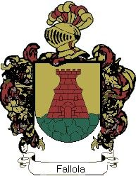 Escudo del apellido Fallola