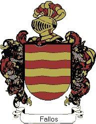 Escudo del apellido Fallos